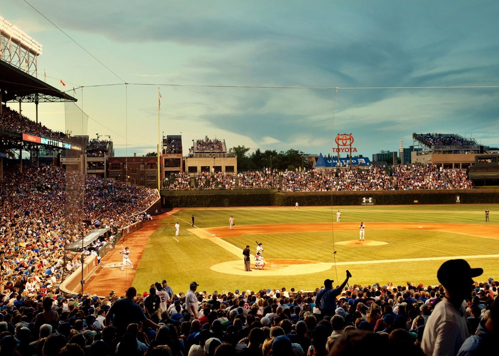 Chicago Cubs for L'Equipe Mag