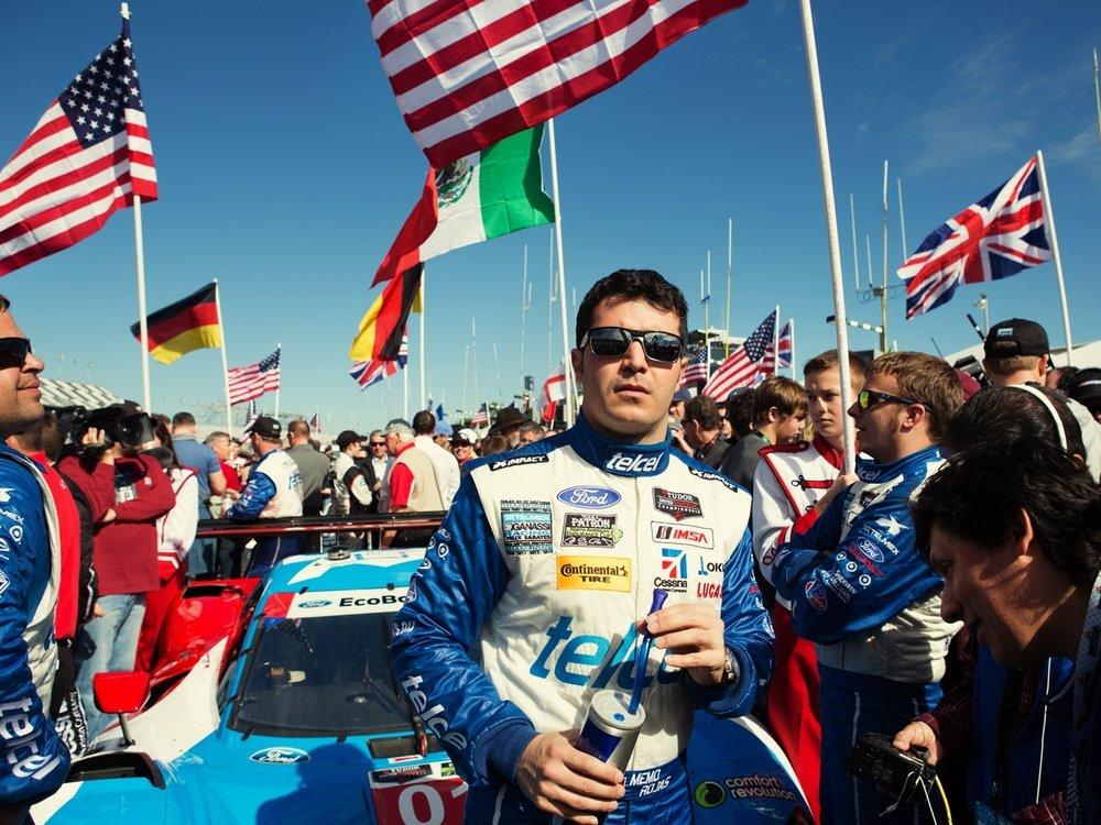 Daytona 24H Race for Red Bulletin