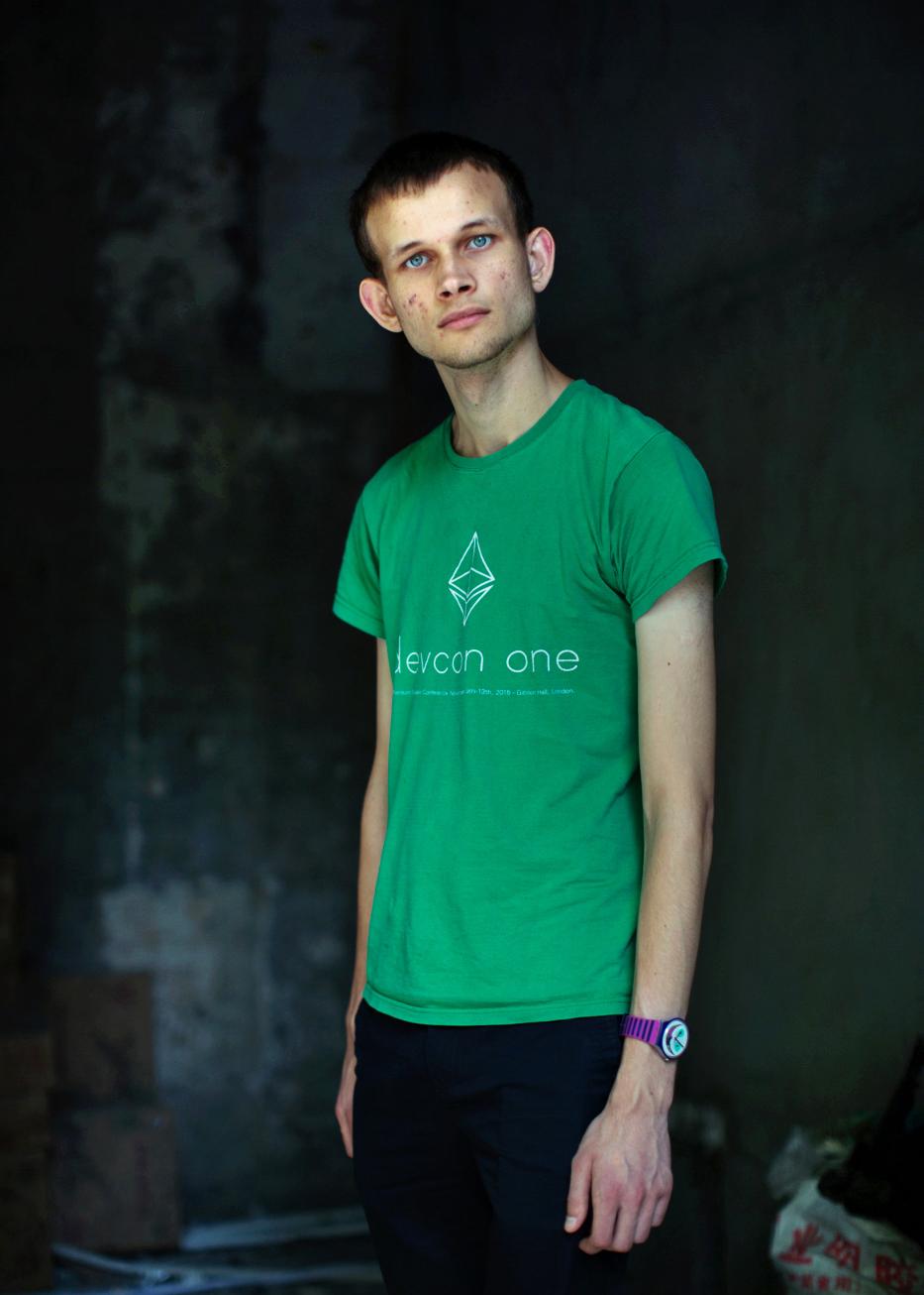 Vitalik Buterin - co-founder of   Ethereum.
