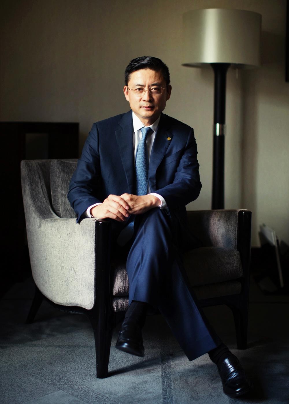 Adam Tan, CEO of HNA group