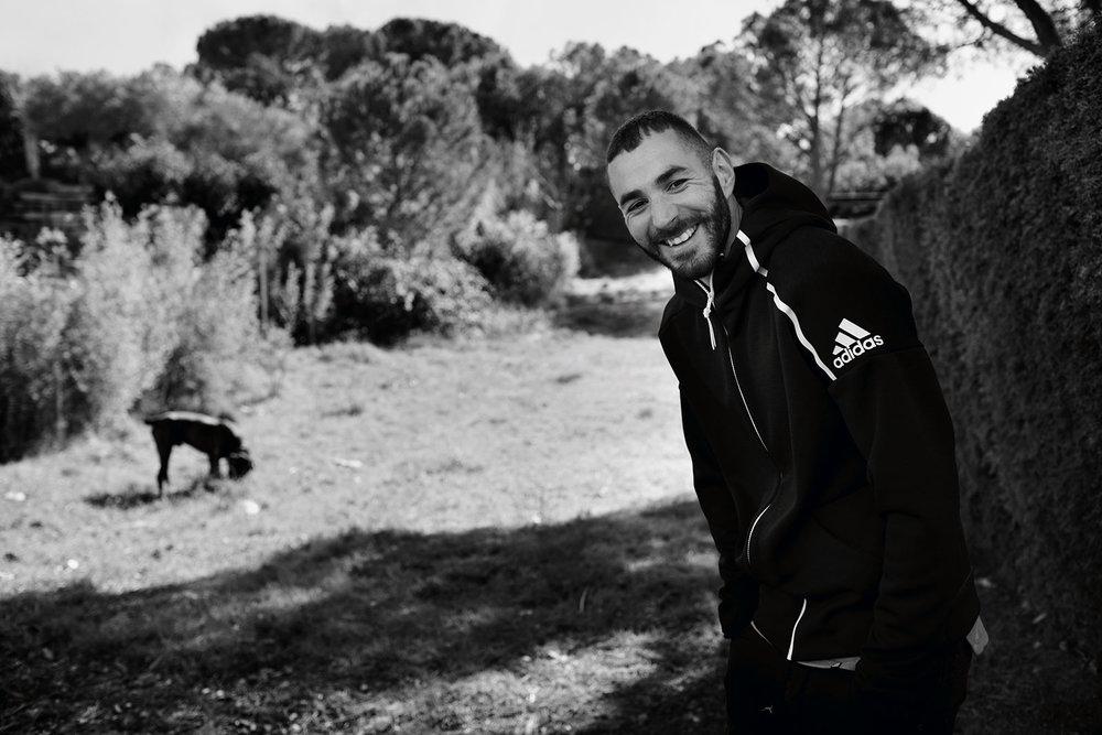 Karim Benzema for adidas