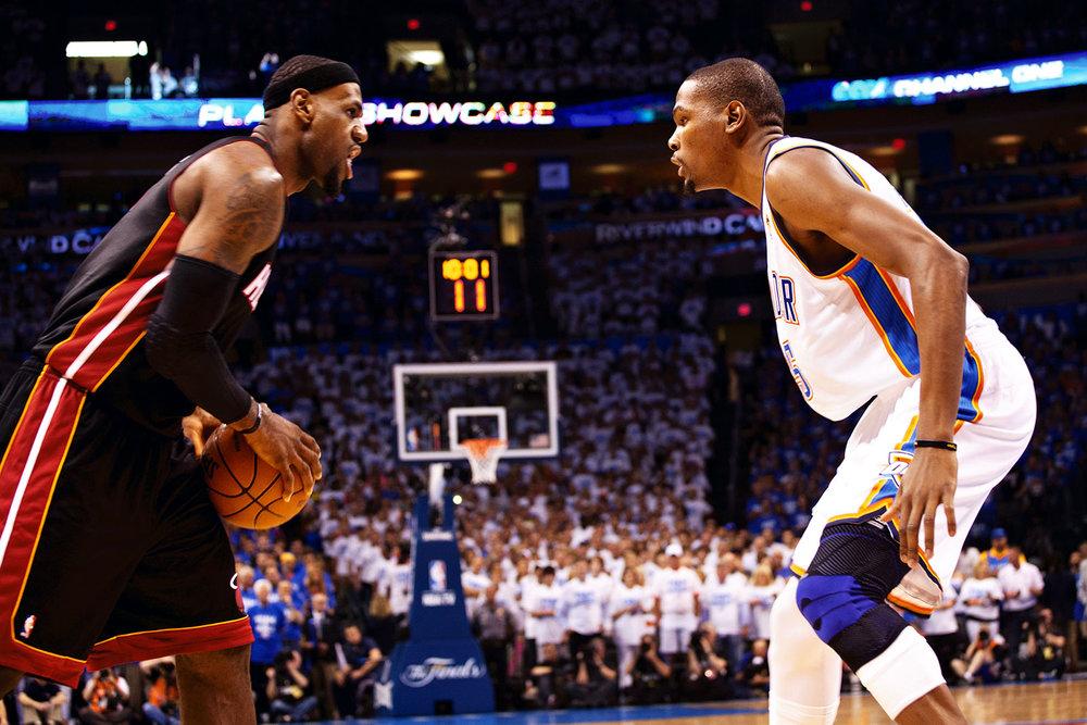 NBA Finals, OKC Thunder vs Miami Heats