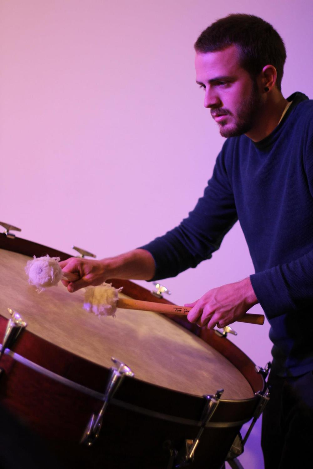 percussionist Nick Matthiesen