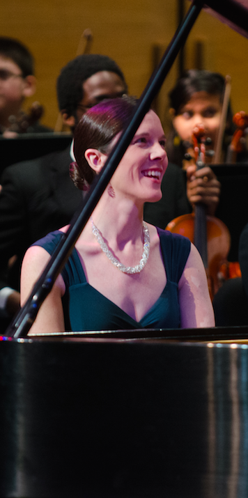 Pianist Elaina Burns