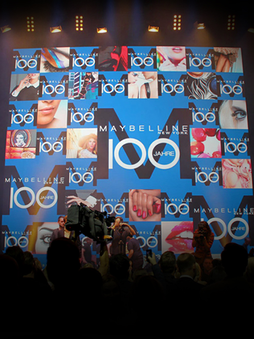 100 JAHRE MAYBELLINE  Maybelline