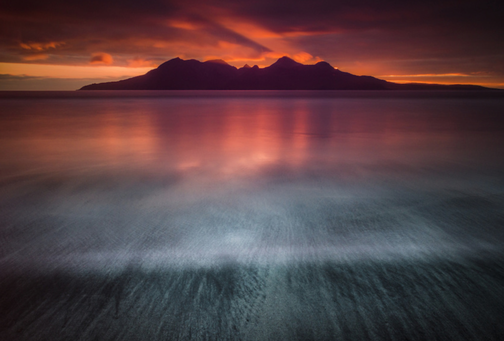 Rum from Laig bay, by Damian Shields