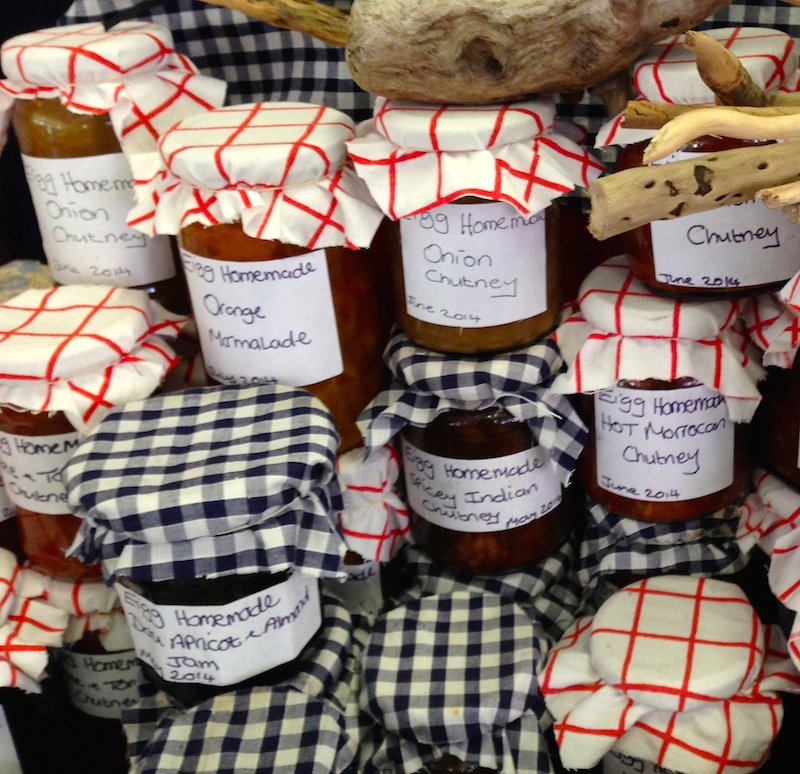 Home-made jam & chutneys by Clare