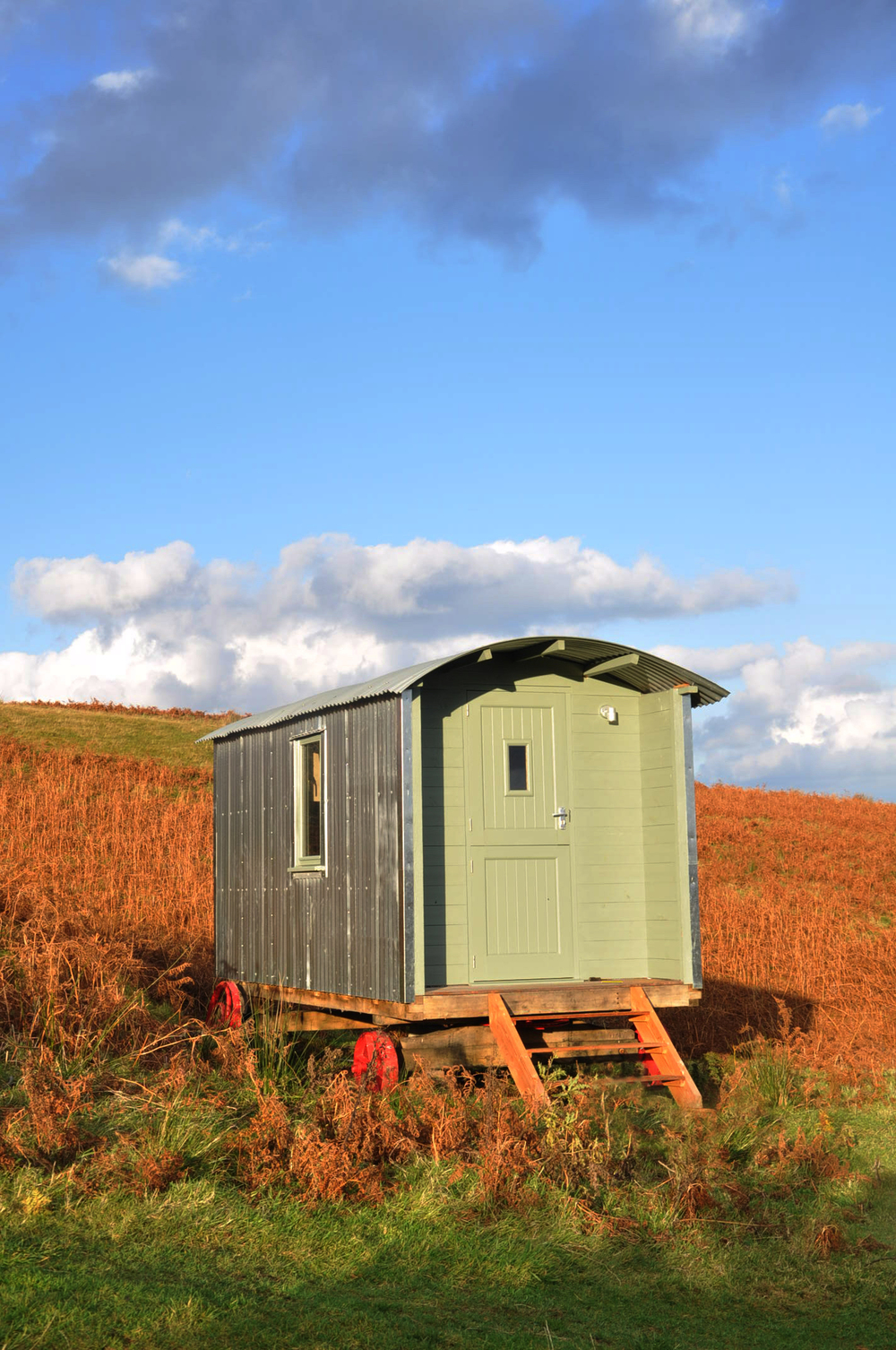 The Eigg Shepherd's Hut