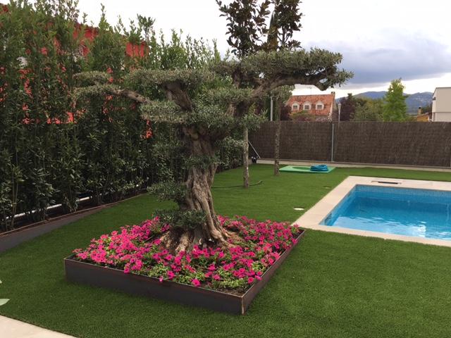 Empresas de jardineria barcelona best de riego with for Jardineria barcelona