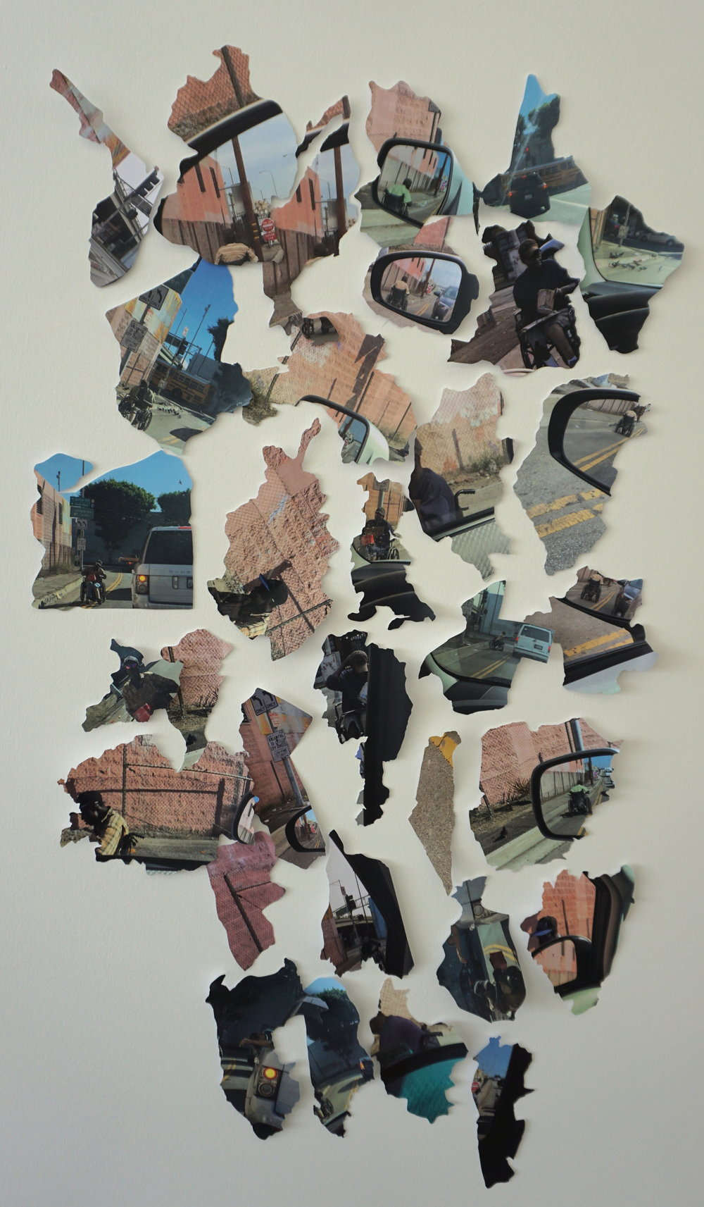 Photography, collage, 42x30 cm