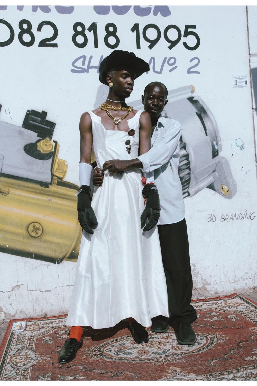 """Photography: Kristin Lee-Moolman  Lebohang Otukile (left), Johannesburg, """"2026."""""""