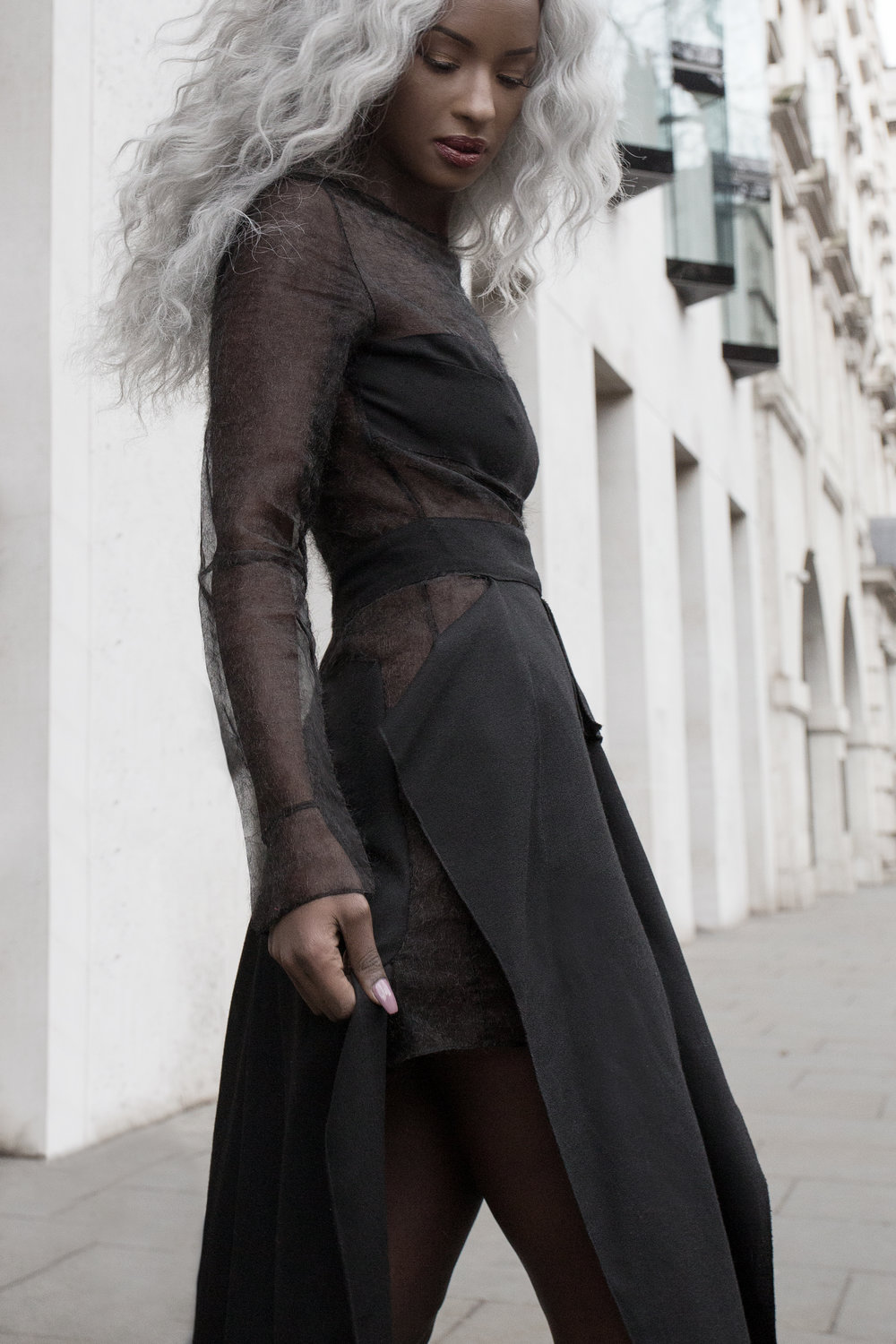 Sarah Mulindwa By Stoyanov & Jones wearing The 7962
