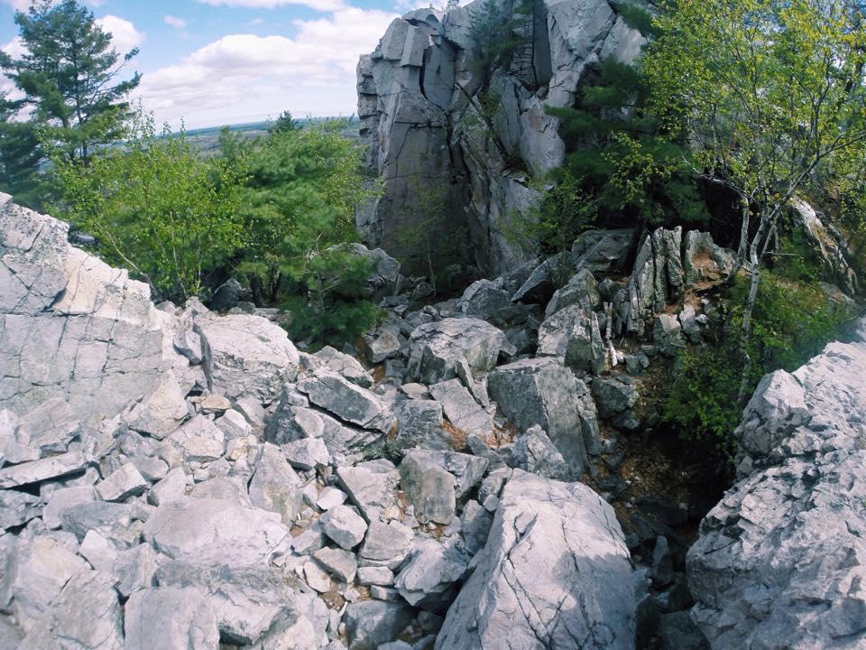 Stair of Boulders
