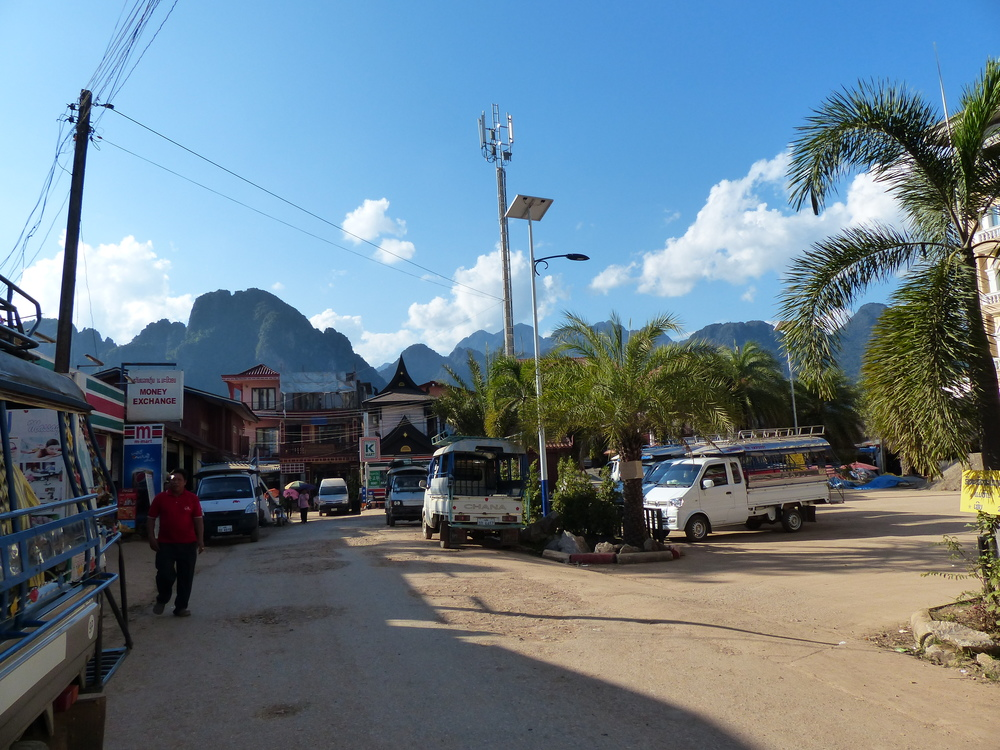 We arrived in Vang Vieng in one piece!