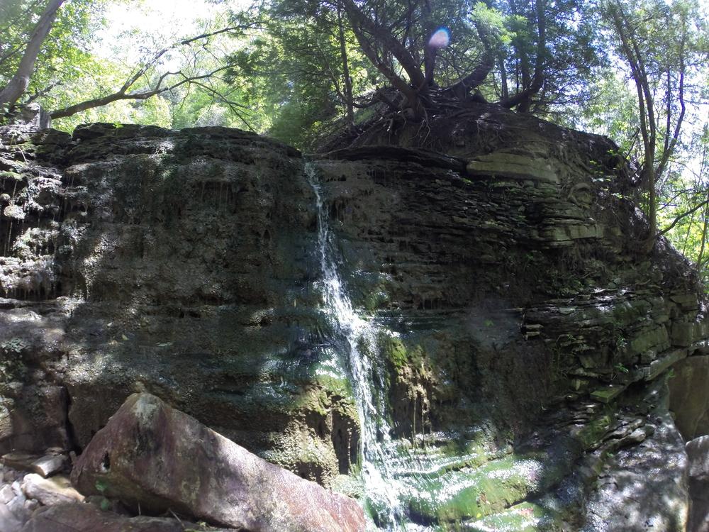 Middle Sydenham Falls