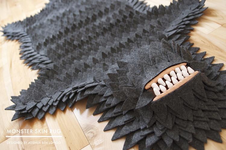 Monster Skin Rug by Joshua Ben Longo