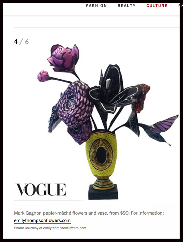 Vogue gift guide!  http://www.vogue.com/6232089/best-home-gifts-design-lovers               http://www.emilythompsonflowers.com/