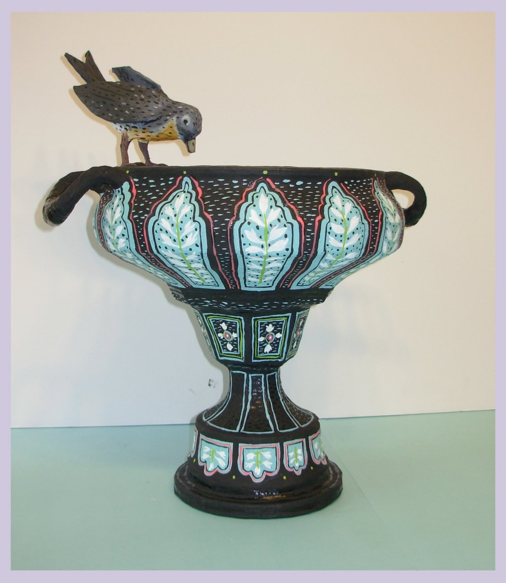 One bird Urn Available at Bergdorf Goodman 7th floor