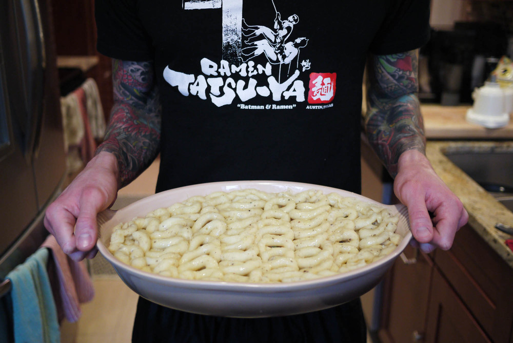 Shout out to our friends at our fave ramen joint,  Ramen Tatsu-Ya !
