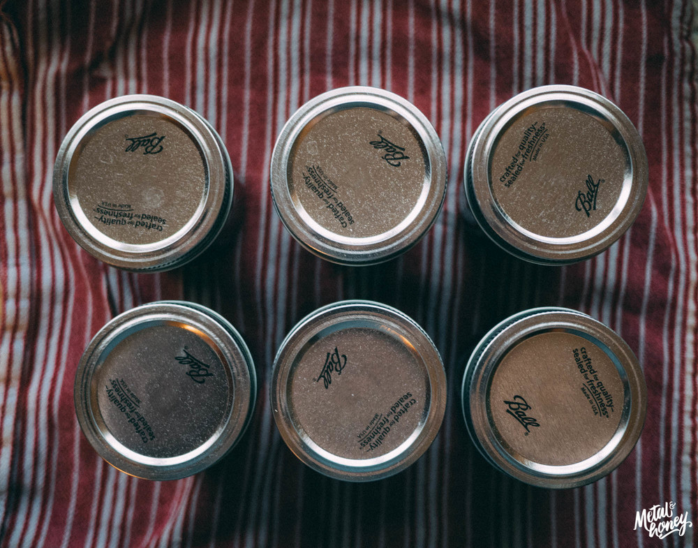 Cherry Vanilla Bourbon Jam | metalandhoney.com