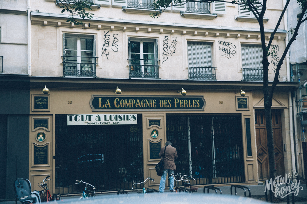 A day trip in Paris | metalandhoney.com