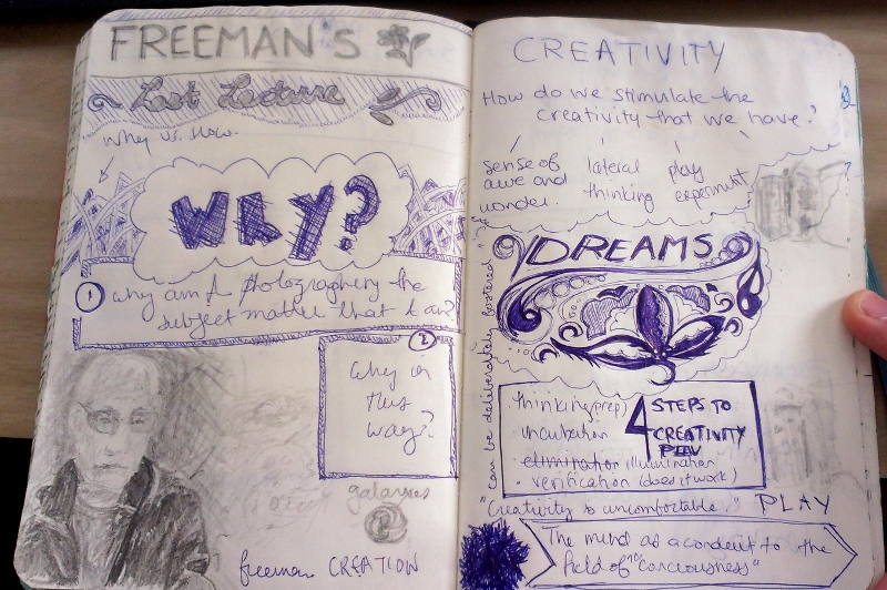Notes from the last lecture given by photographer Freeman Patterson at the Kingston Peninsula workshop in October 2014.