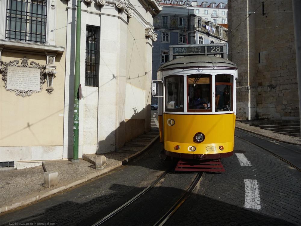 28 Tram car, Lisbon