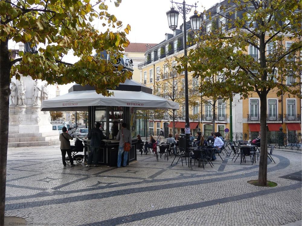 Quiosq at Luis de Camoes square, Lisbon