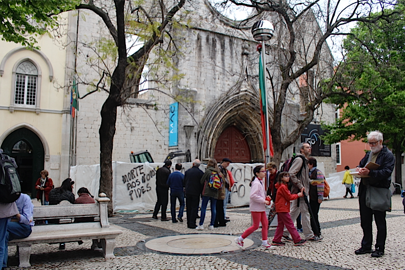 April, 25th Workshop - Lisbon, Largo do Carmo
