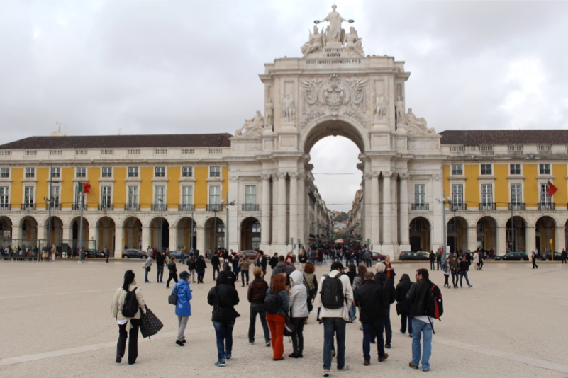 April, 25th Workshop - Lisbon, Terreiro do Paço