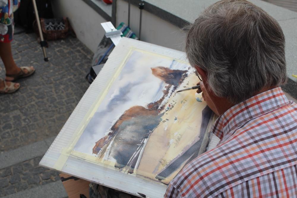 watercolor International Meeting Santa Cruz