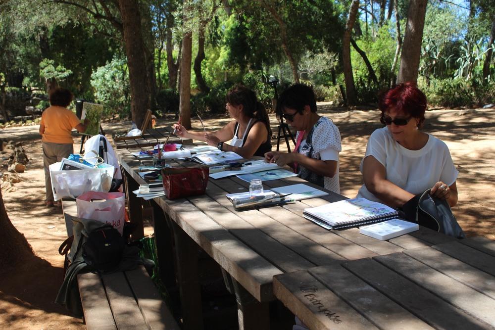 Painting Meeting Parque Marechal Carmona Cascais