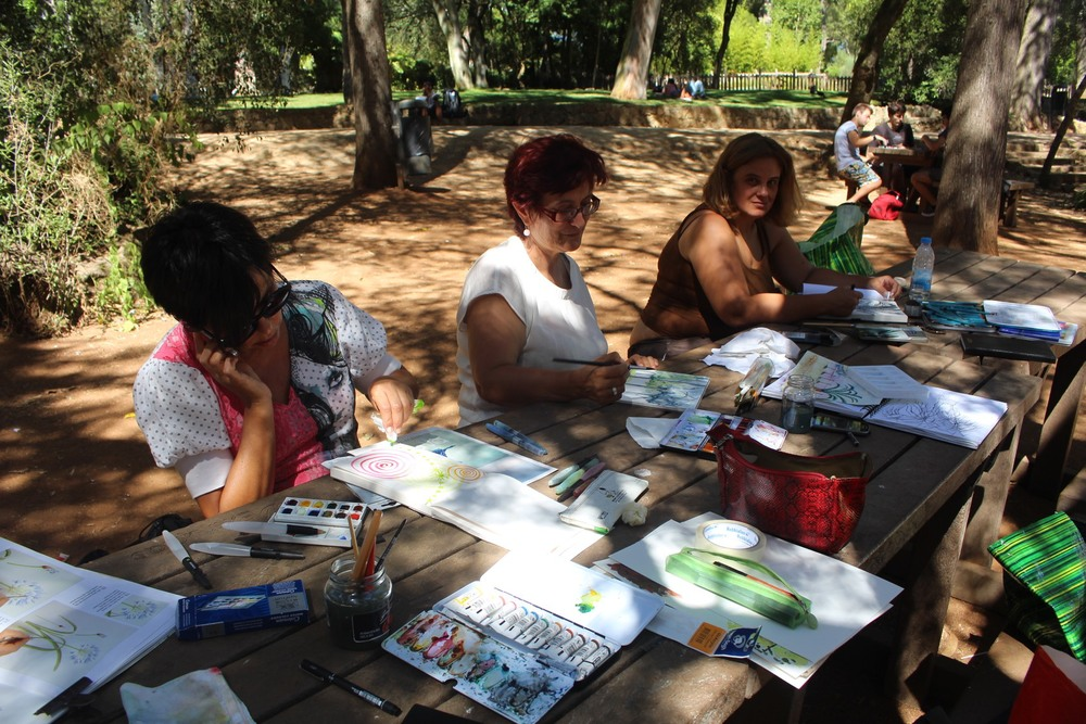Painting Meeting in Marechal Carmona Park - Cascais