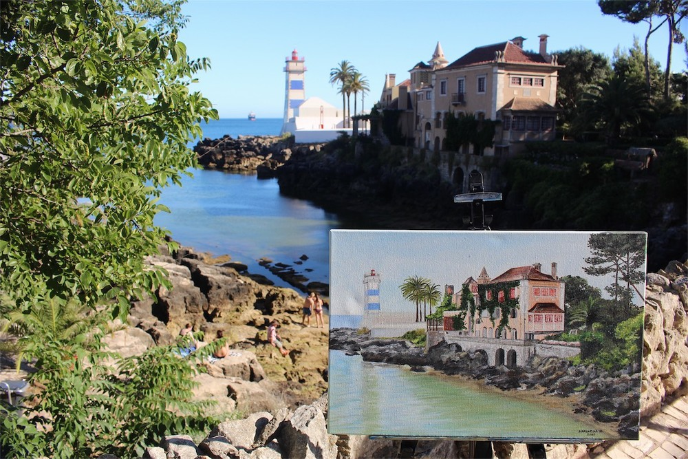 Paint Session in Cascais