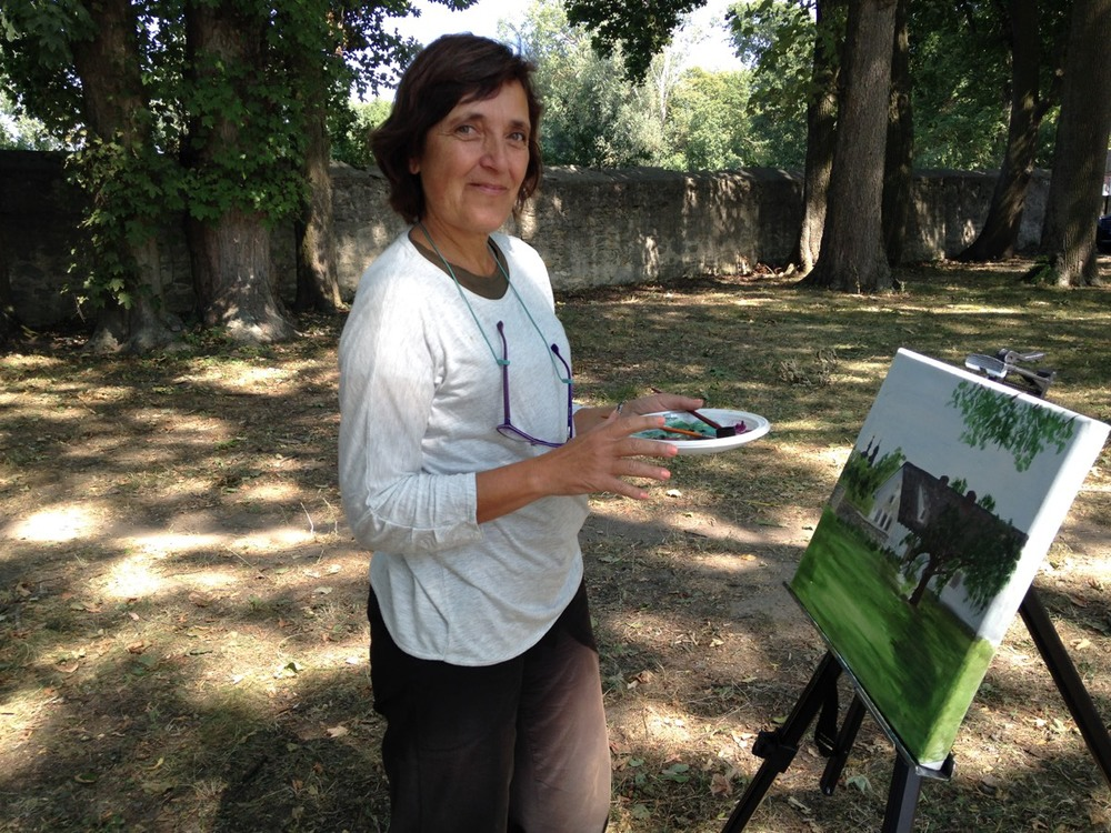 Open-Air Painting Meeting in Kurozweki, Poland