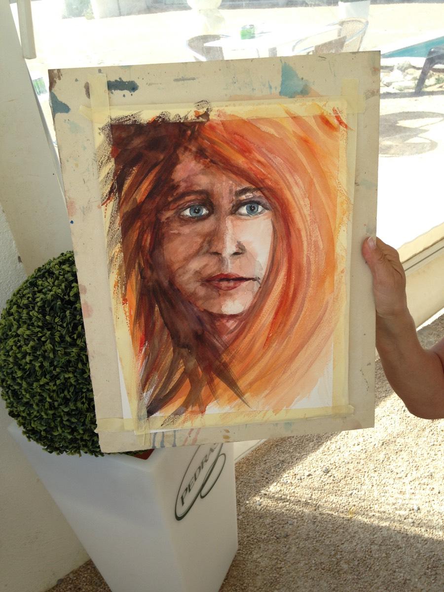 Encontro de Pintura na Ponta do Sal -  12 de Agosto