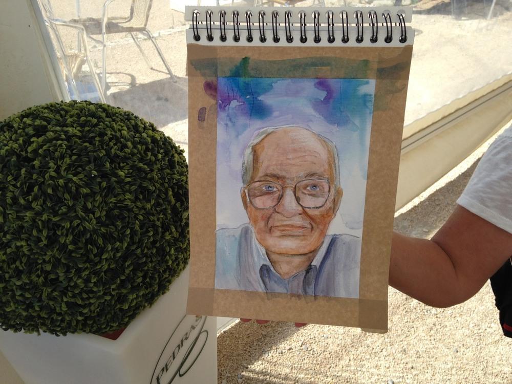 Encontro de Pintura na Ponta do Sal - Cascais -  12 de Agosto