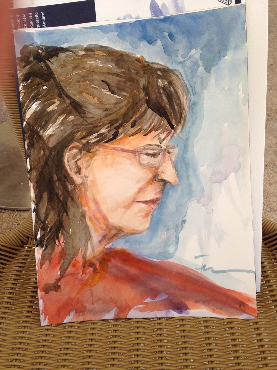 Encontro de Pintura na Ponta do Sal - Cascais- 12 de Agosto