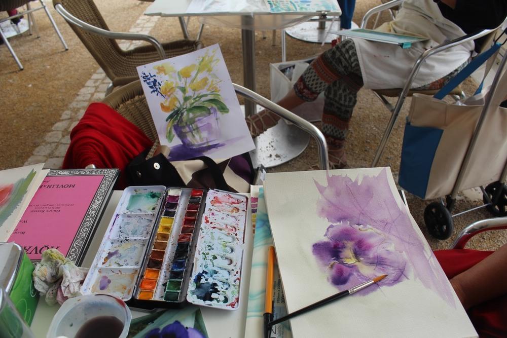 Encontro de Pintura na Ponta do Sal -  Cascais - 16 de Setembro