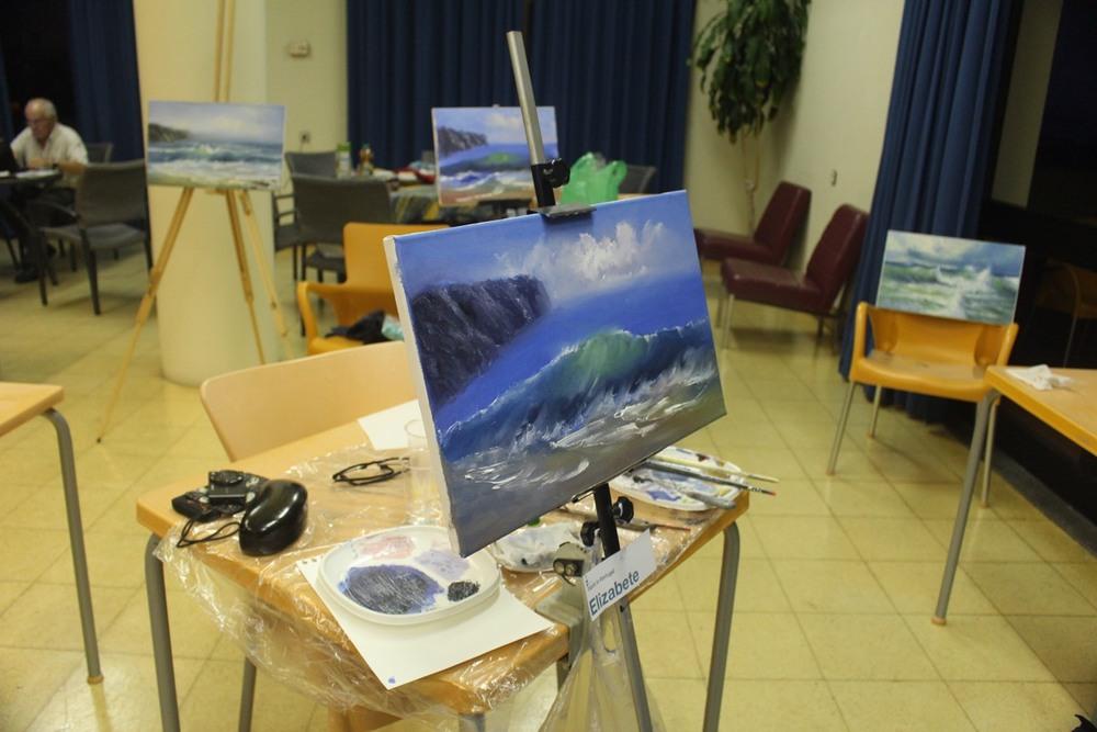 Workshop Pintura 5 Nov - Paint in Portugal -