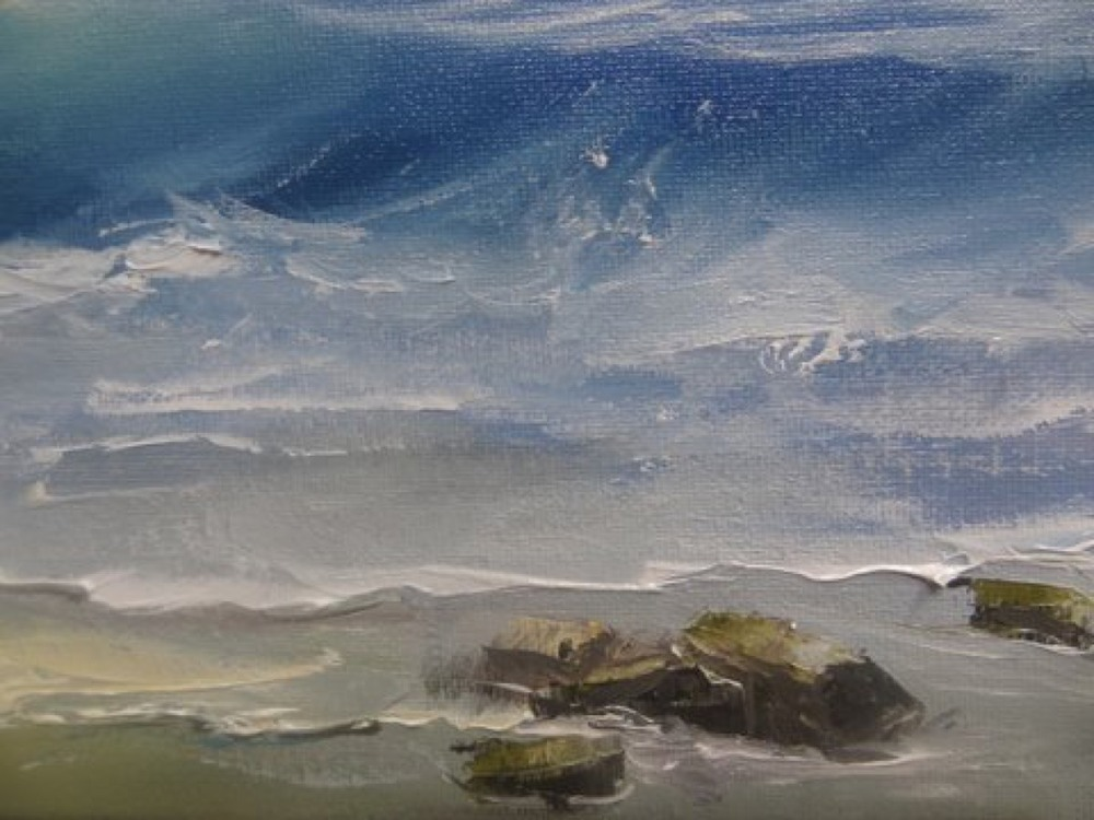 Anabela Faia's Sea Painting (detail)