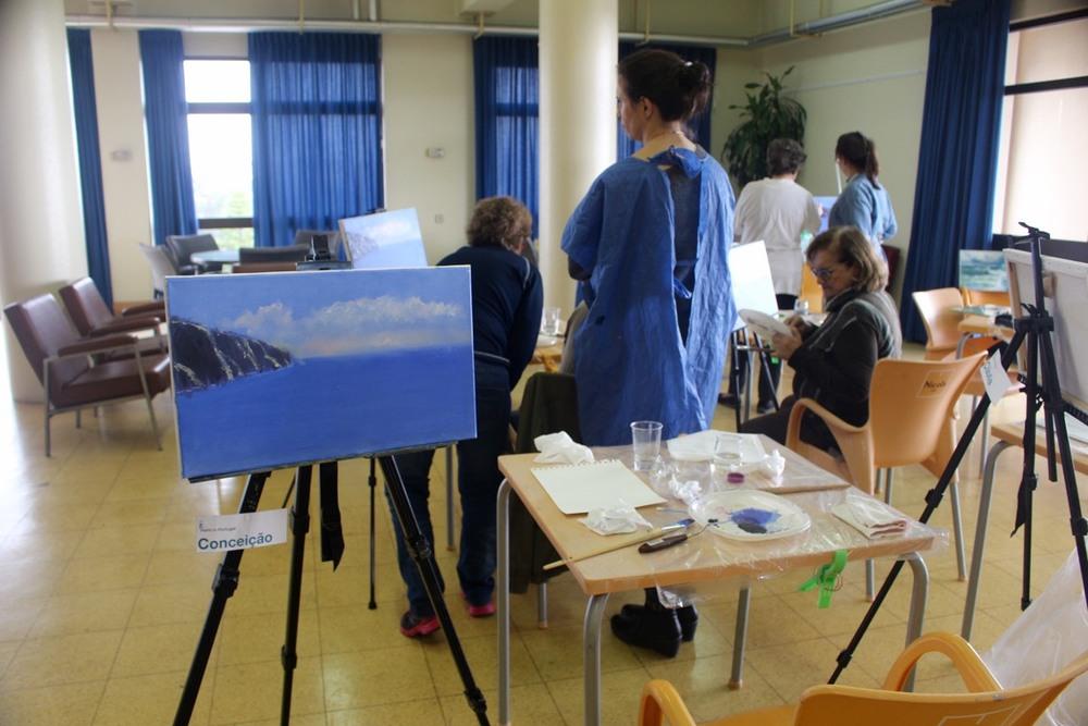 Painting Workshop - 5 Nov. Paint in Portugal