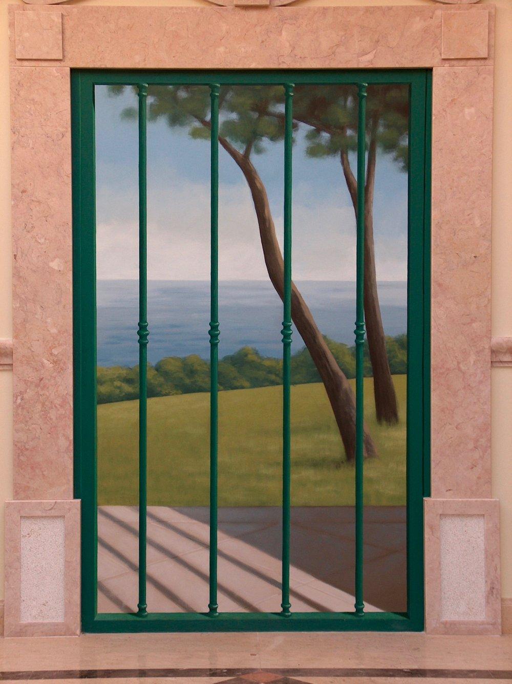 "Landscape in ""Trompe l'oeil"", Ana Margarida"