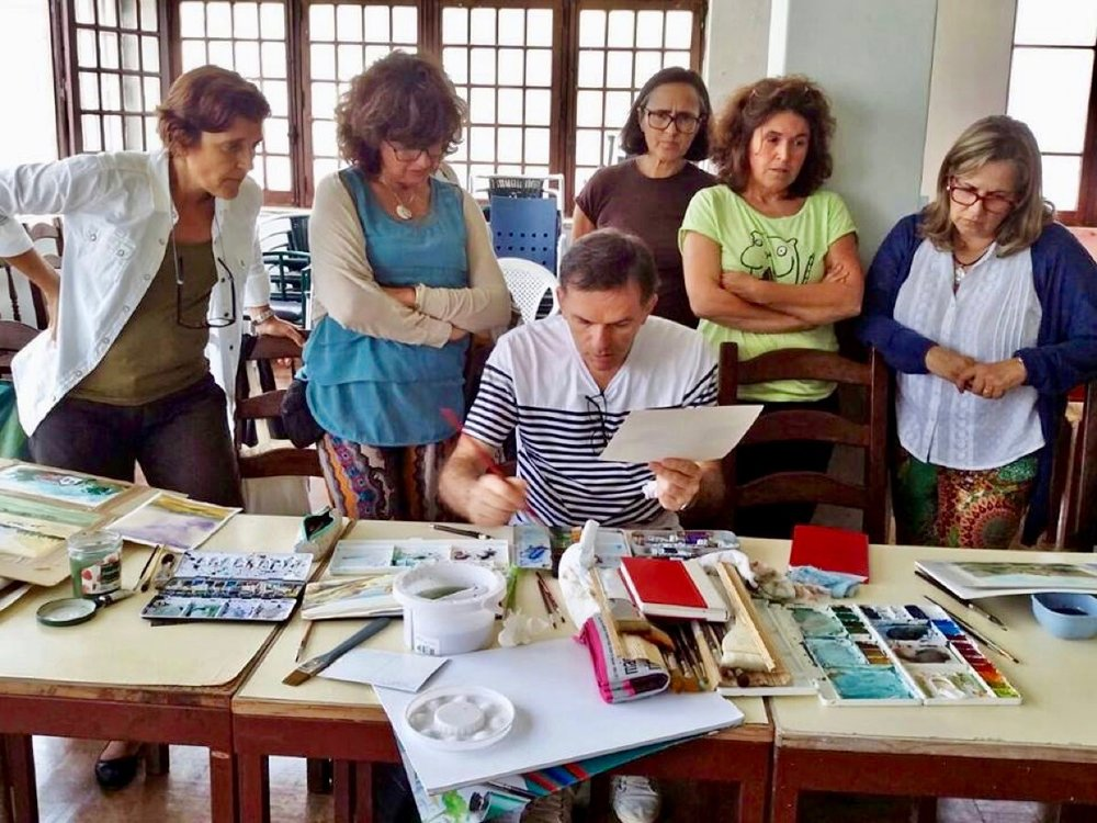 Students Class, Antonio Giacomin