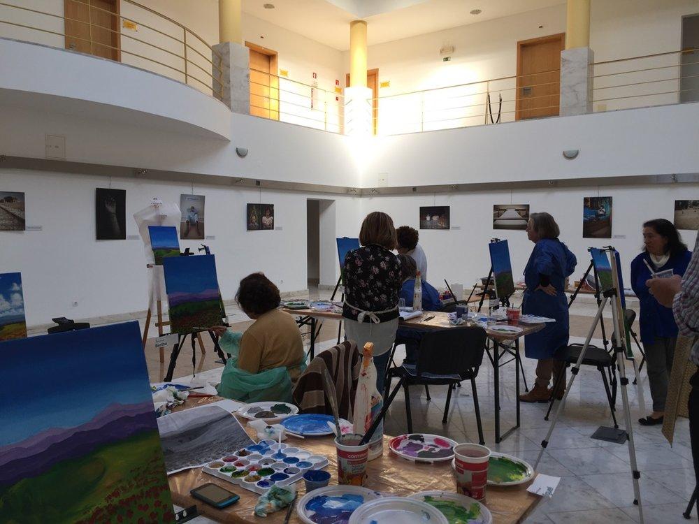 Acrylic Painting workshop 20170220