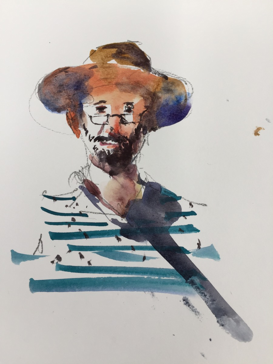 Antonio Giacomin Workshop Watercolour _20170515 S Pedro, Cascais
