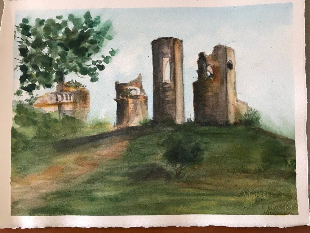 Montemor Watercolor meeting 201806