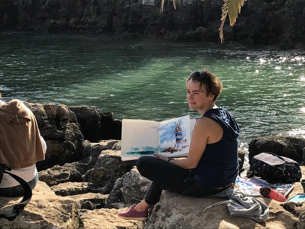 Julia Barminova workshop 201902 Cascais