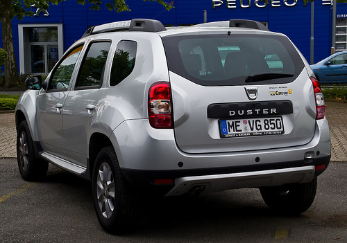 The Dacia Duster. Modest and available at a showroom near you...