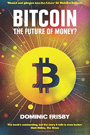 Image of book on how to make money out of bitcoin